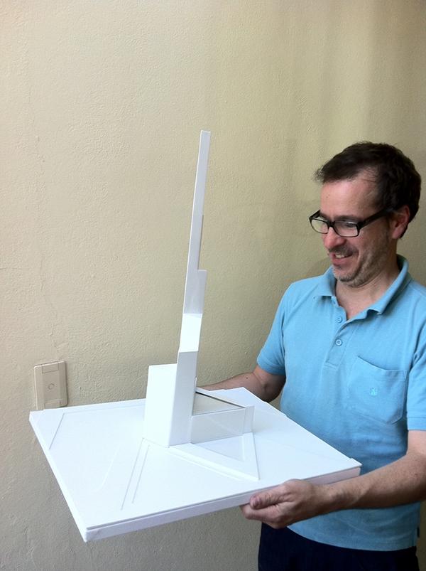 model monument scale model