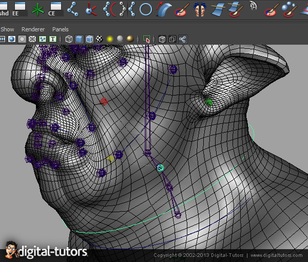 Joint-Based Facial Rigging in Maya on Behance