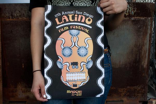 Latino Film Festival San Diego Poster San Diego Latino Film Festival