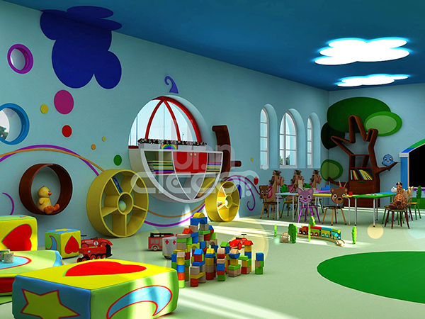 Kindergarten Classroom Decoration ~ Kindergarten interior design on behance