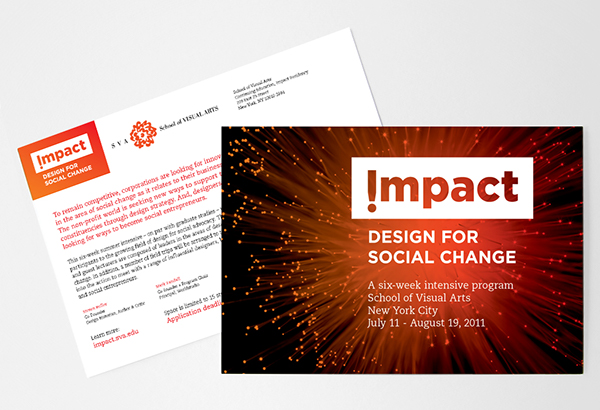 Impact Design For Social Change On Aiga Member Gallery