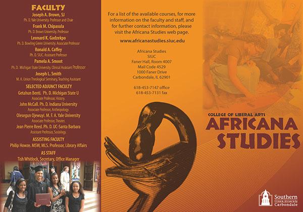 SIUC   Africana Studies on Behance