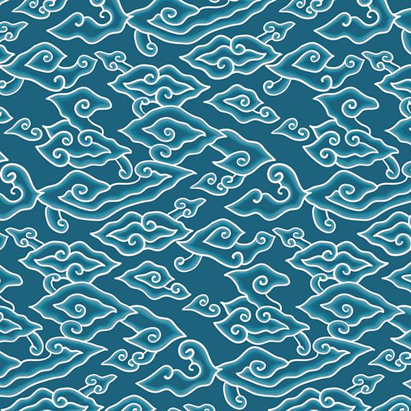 Megamendung Batik Pattern On Behance