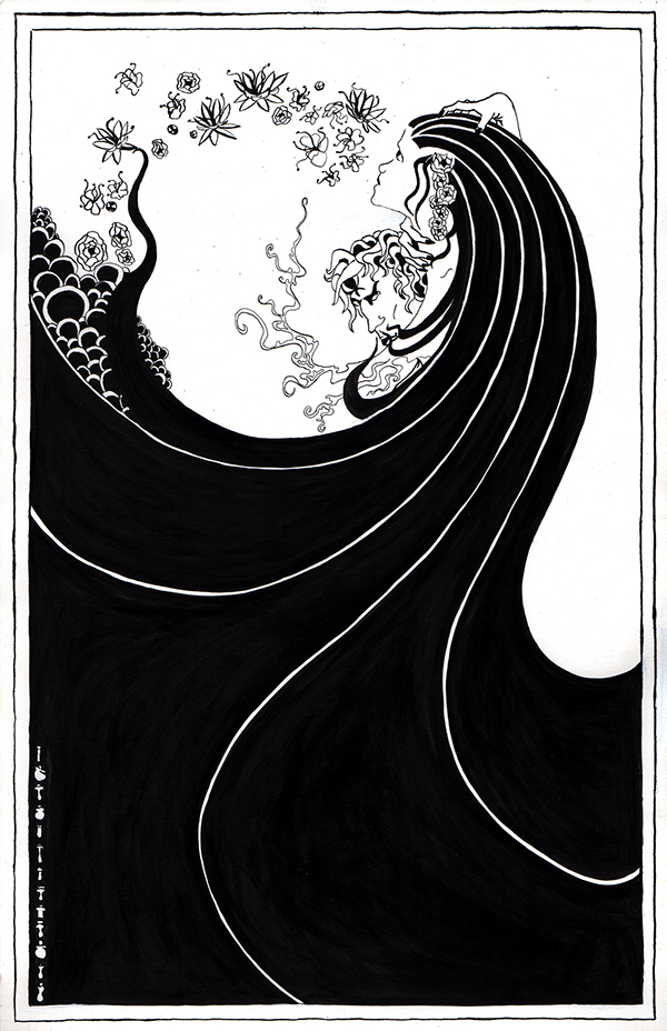 Aubrey Beardsley Illustration