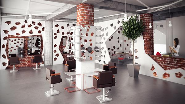 Hair Salon Interior Design On Behance