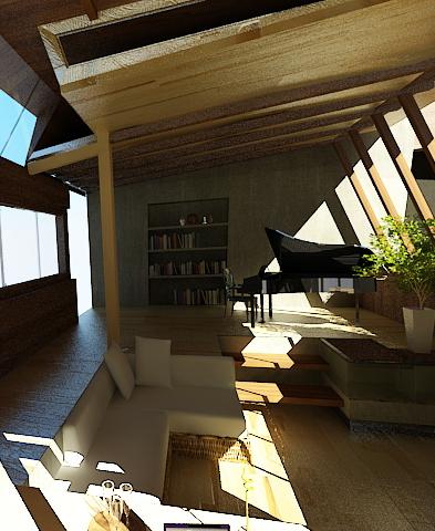 Green Concept Interior On Behance