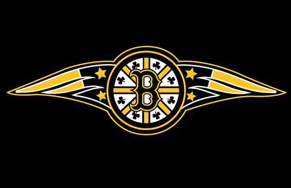 Boston sports mash up on behance logos included are the boston bruins wagon wheel red sox center b celtics clovers and the new england patriots tails on each side with star voltagebd Image collections