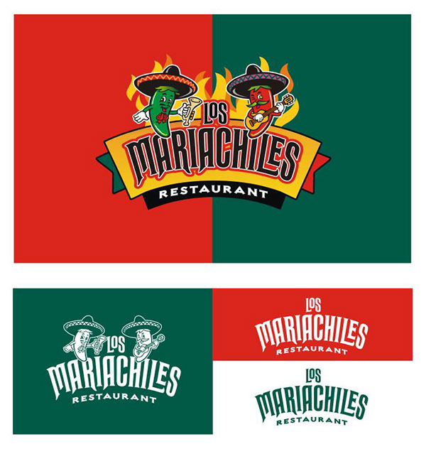 Mexican restaurant logos for Mexican logos pictures