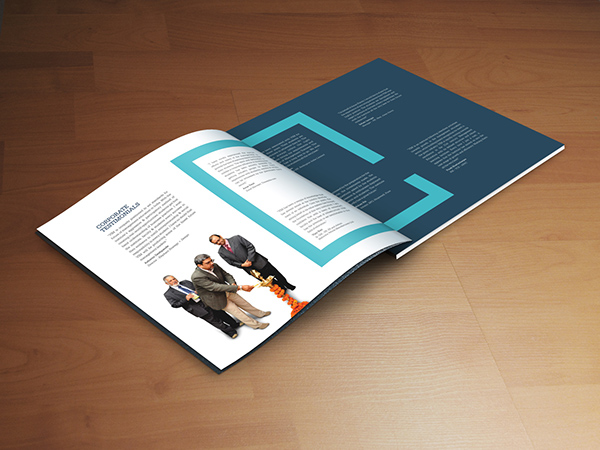 brochure design layout ideas - corporate brochure of viswakarma institute of mgmt on behance