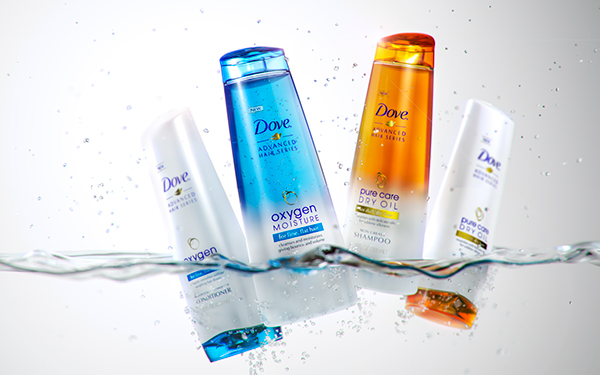 Dove Premium Hair Care 3d Beauty Visual And Advert On Behance