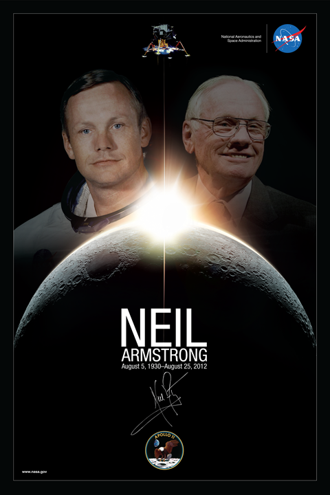 neil armstrong poster idea - photo #15
