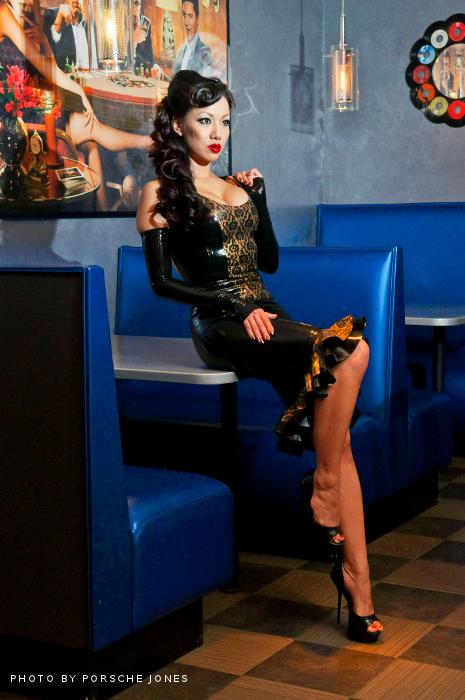 Jade Vixen: Latex Noir (with Jade Vixen) On Behance