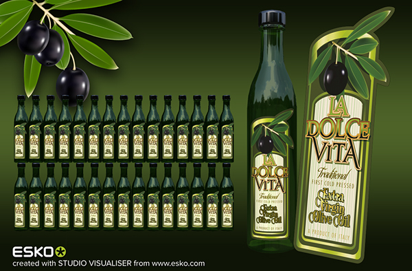 ESKO & Illustrator Packaging Visuals on Behance