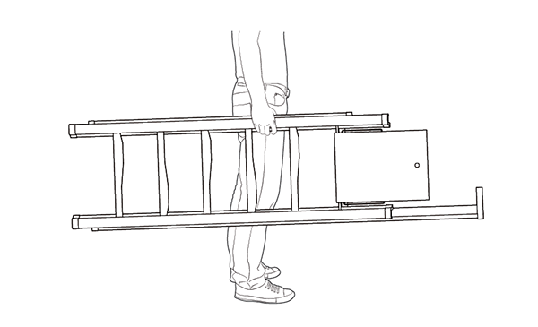 ladder product lightweight industrial concept