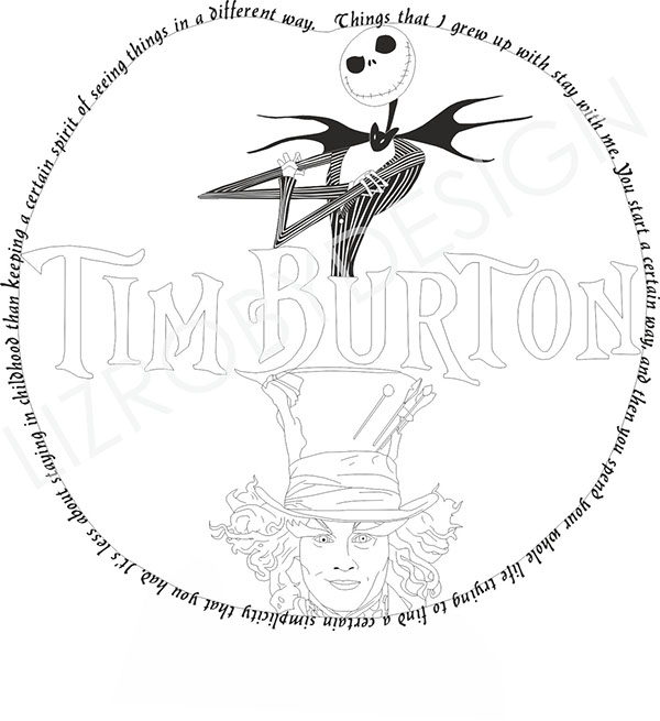 Tim Burton Tattoo Designs On Behance