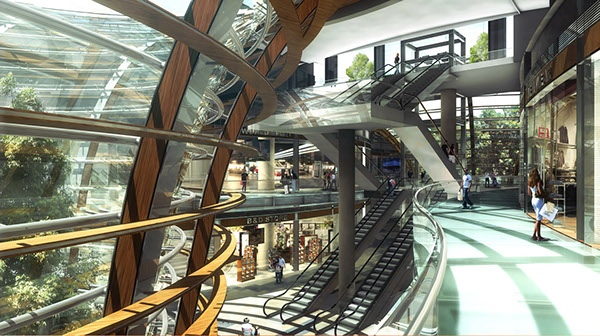 Shopping Malls And Retail Stores On Behance