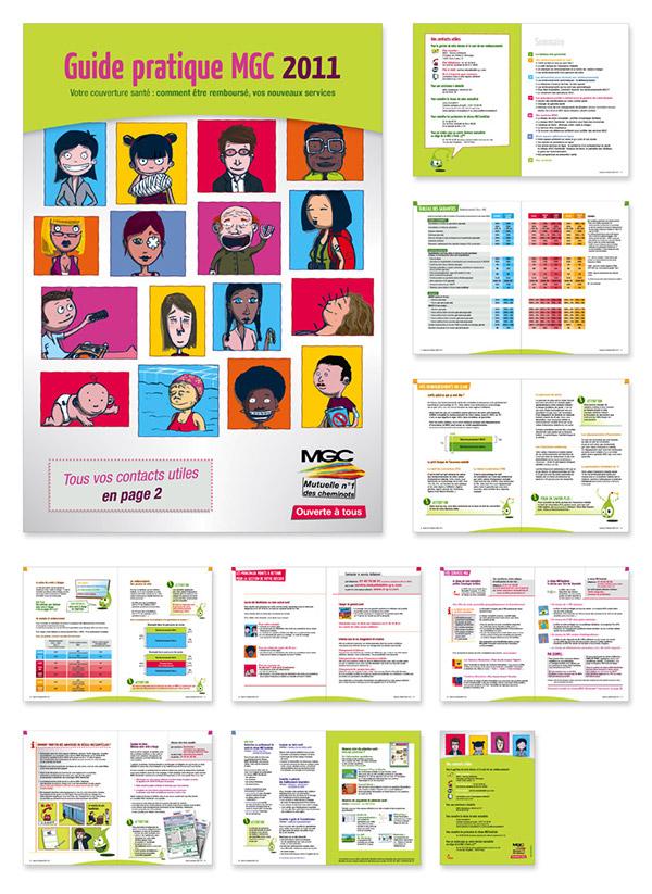 MGC Mutuelle santé plaquette Web print