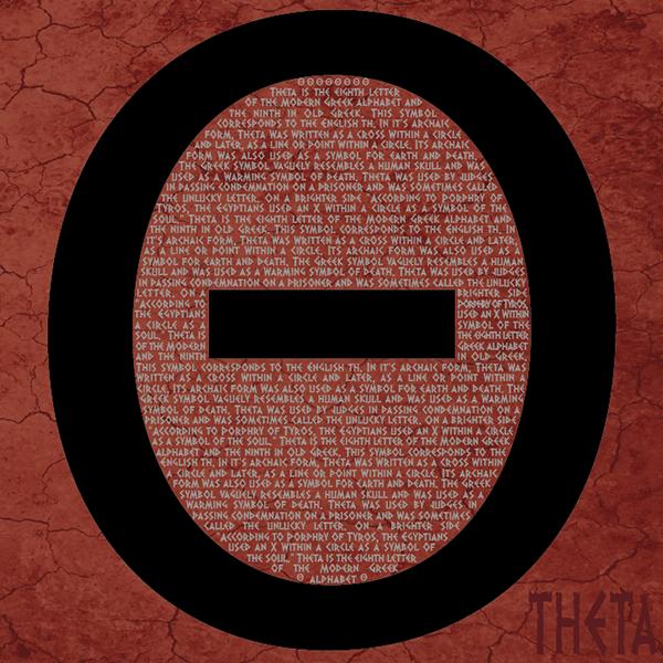 Greek Theta Symbol On Behance