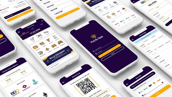 Mockup UI App Design