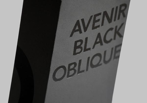 Avenir Oblique Package on Behance
