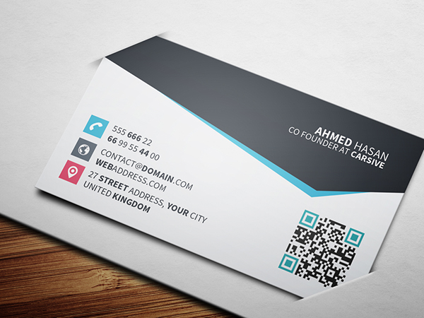 Creative business card template 2 on behance thank you colourmoves