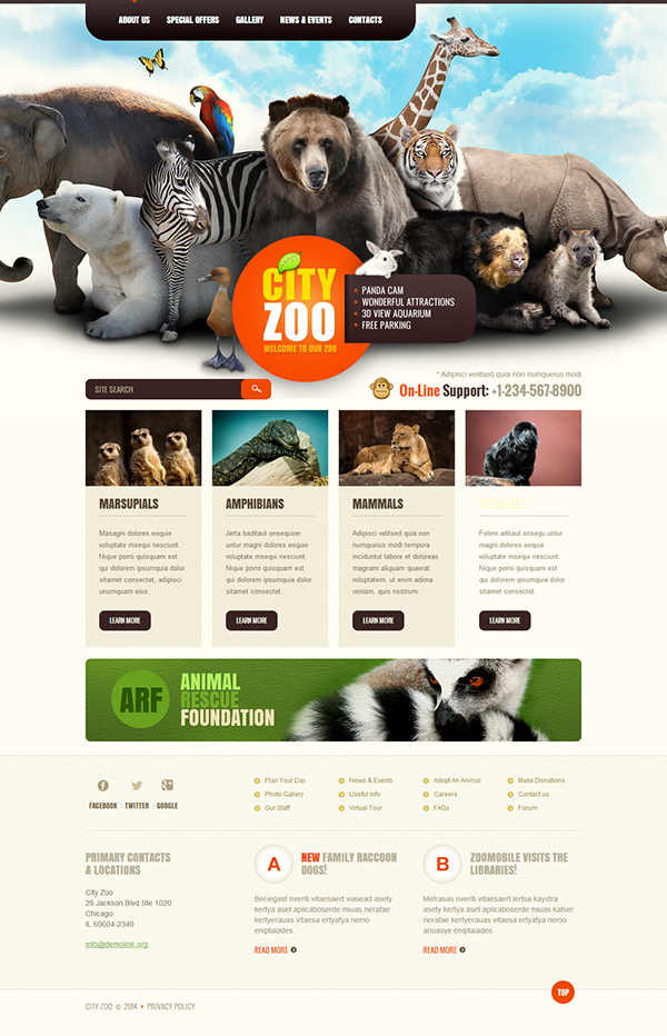 Preview white zoo joomla template by delta tmt youtube.