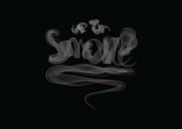 Smoke Letters Font Free