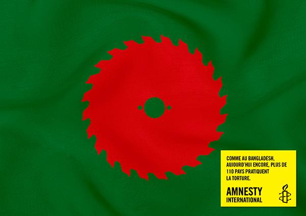 torture amnesty international Air Brussels flags belgium