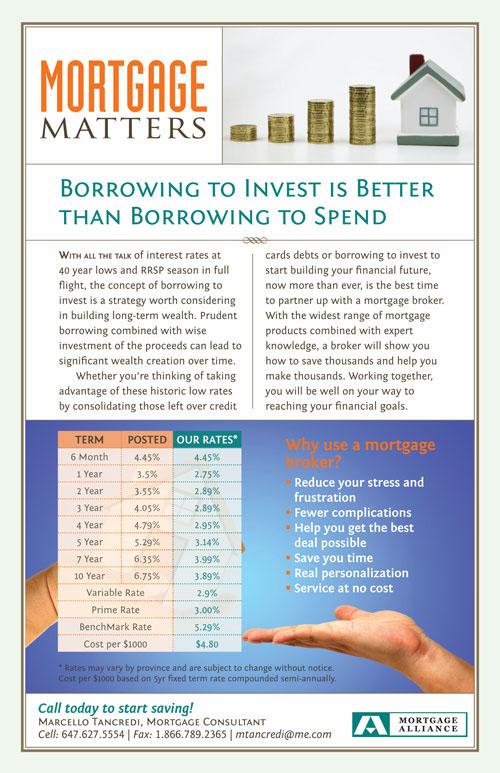 Mortgage broker newsletter canada