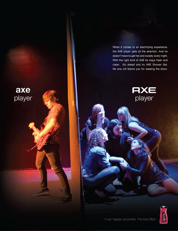 Axe Shower Gel on Behance