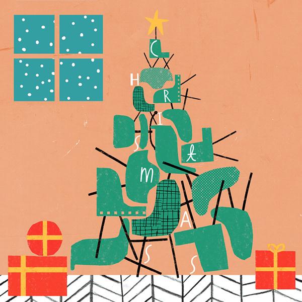 高質感的28張聖誕節賀卡欣賞