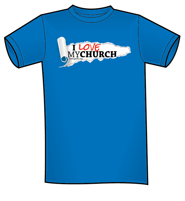 I Love My Church T Shirt And Logo On Behance