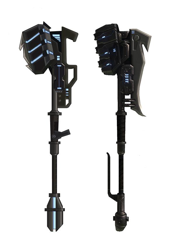 Halo Gravity Hammer Models on Behance