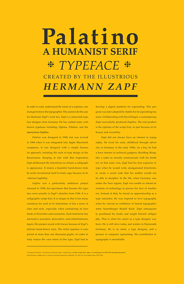 hermann zapf a typographer