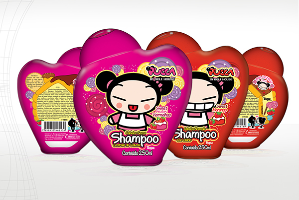 pucca Pucca Hair Package Cosmetic package Cosmetic