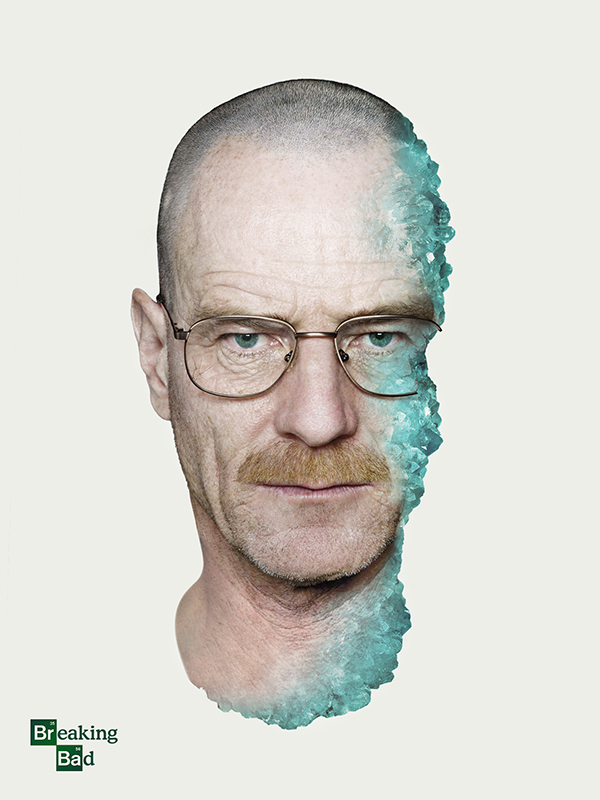 d05380632484f Breaking Bad Poster Series on Behance