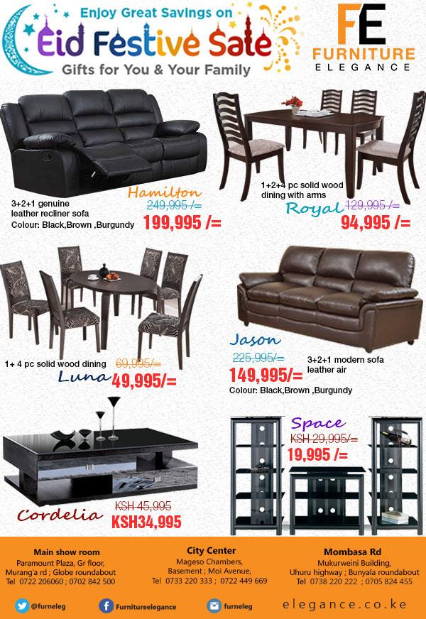 Furniture elegance Eid sale flyer on Student Show   eid furniture