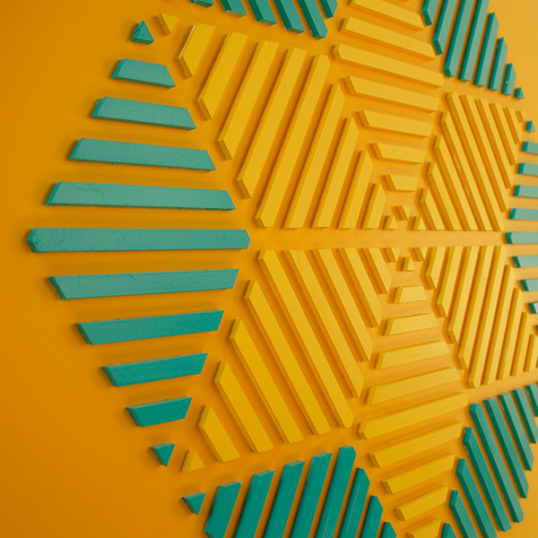 Arabesques 102 On Pantone Canvas Gallery
