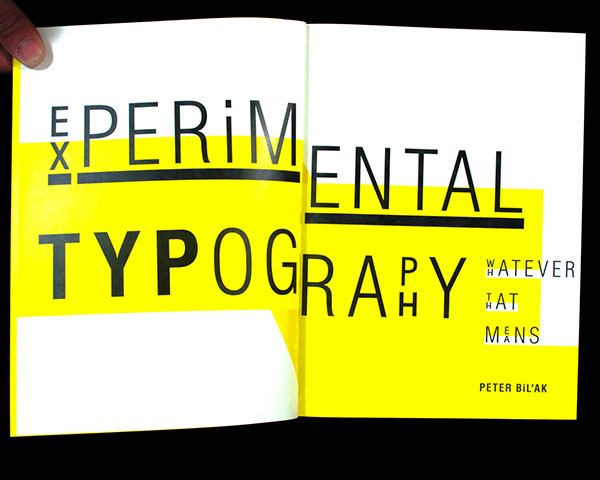 Experimental Typography On Ccs Portfolios