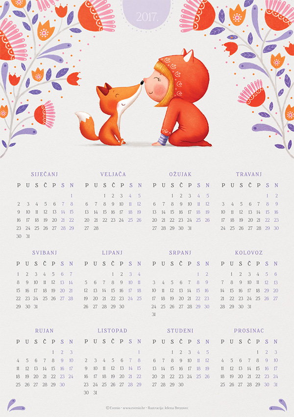 calenders for 2017 on wacom gallery