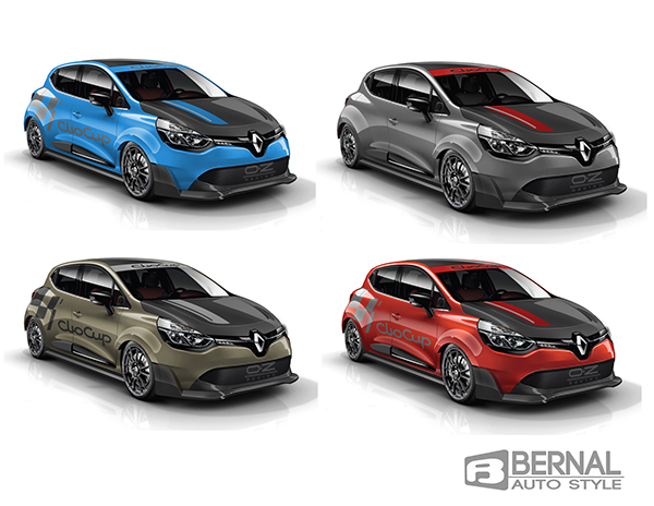 Renault Clio Cup Concept with wide body kit   on Behance