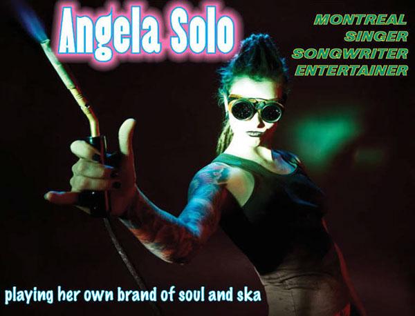 female Singer voice awesome beauty ska soul