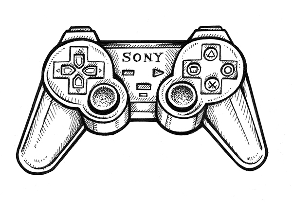 xbox 360 coloring pages