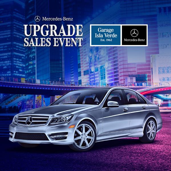 Garage isla verde mercedes benz upgrade sales event on for Mercedes benz complaint department