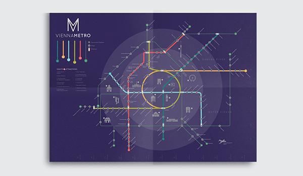 Vienna Metro Redesign on Behance