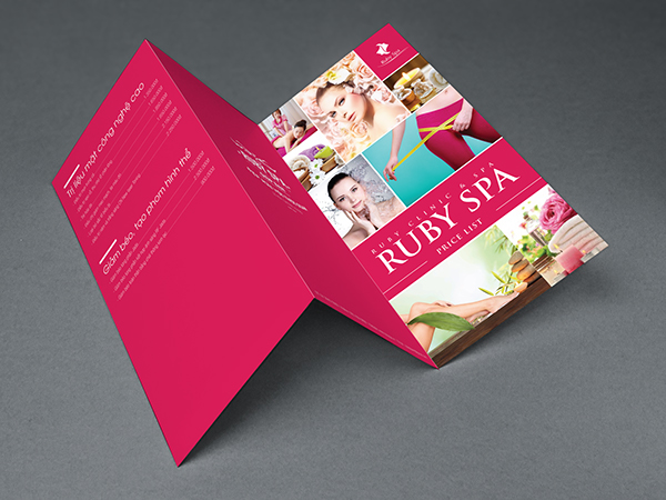 Spa Price List Design Price List Ruby Spa on Behance