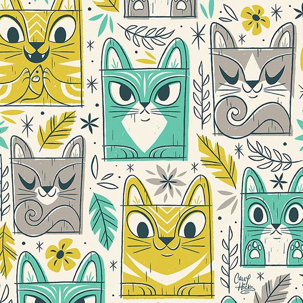 完美的21套可愛圖案設計欣賞