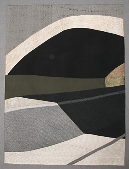 Carol nilsen california river 36 x 48 fine art quilt