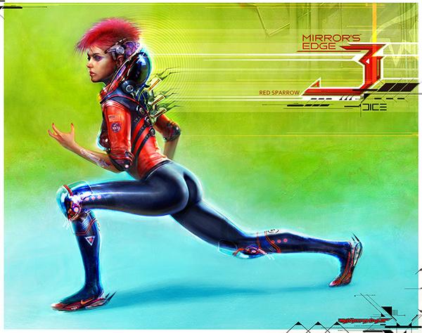 concept art digital illustration