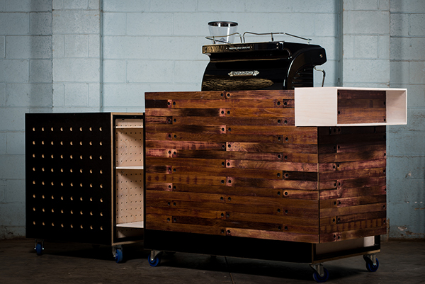 office coffee cart. A Commission For New Coffee Start Up \u0027From Humble Grounds\u0027 Based In Adelaide, South Australia. Using Locally Sourced, Recycled Wine Staves And Simple Office Cart